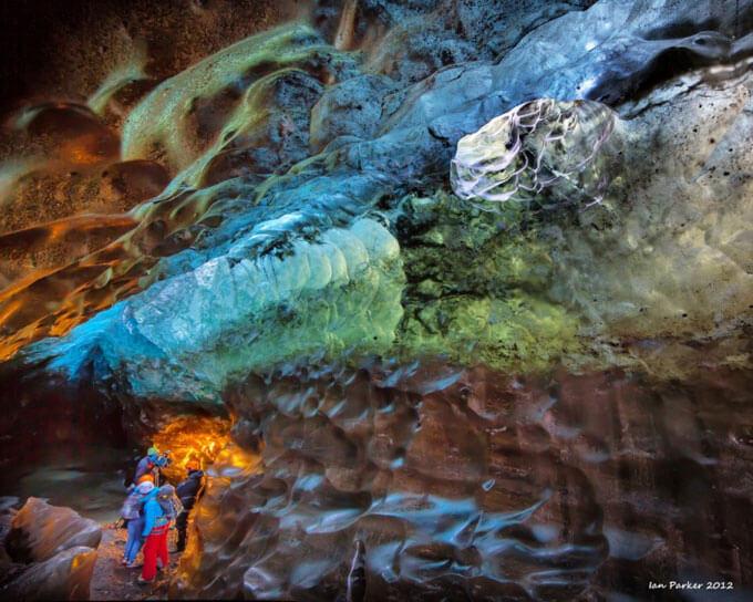 необычная пещера