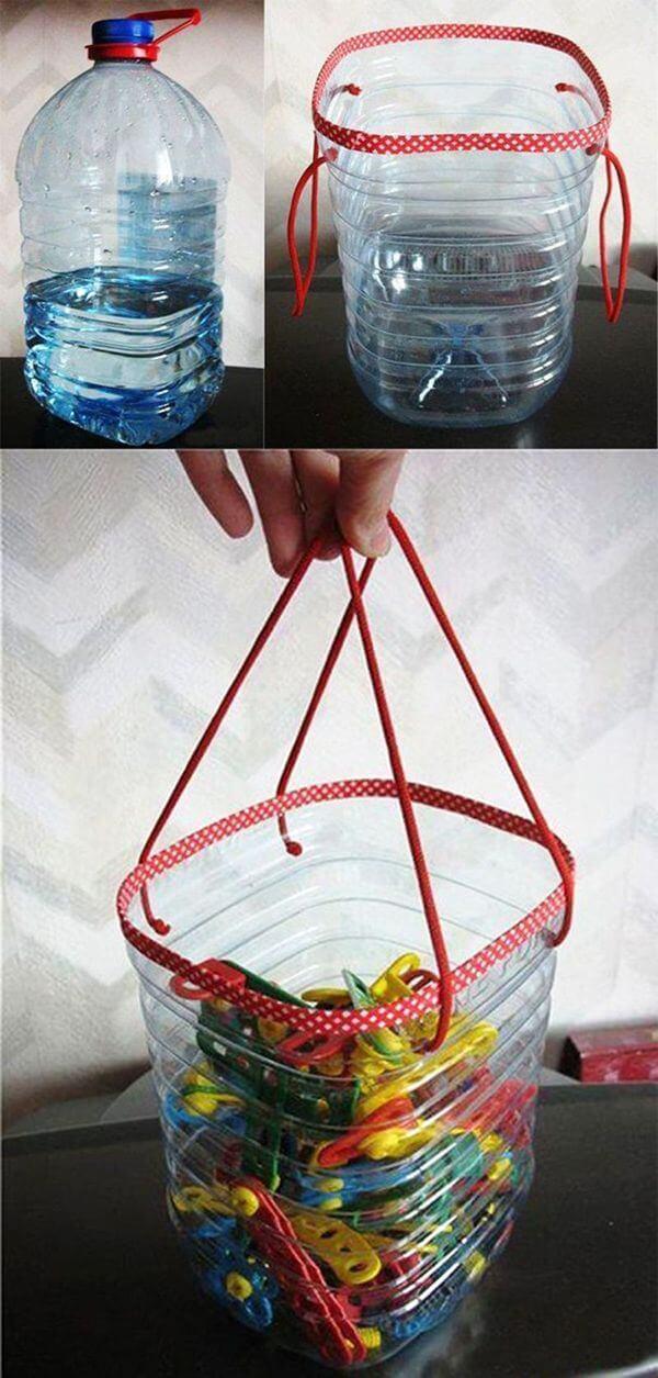 пластиковая корзина