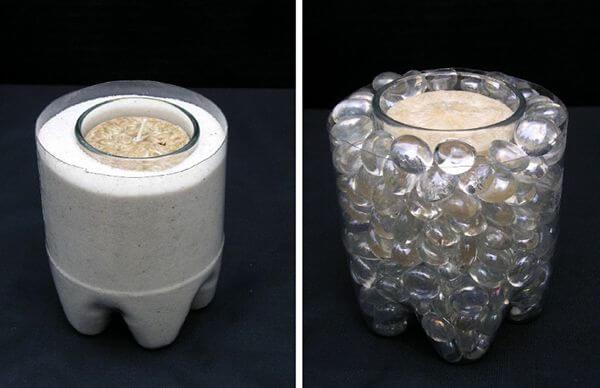 пластиковый подсвечник