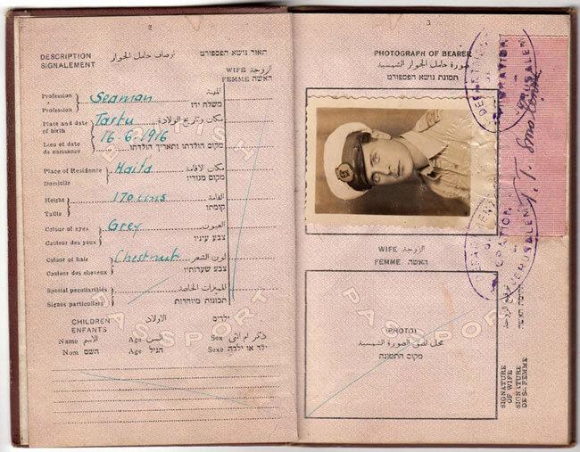 Этот документ позволил Лидии Графф покинуть Советский Союз, чтобы посетить Монголию и Китай